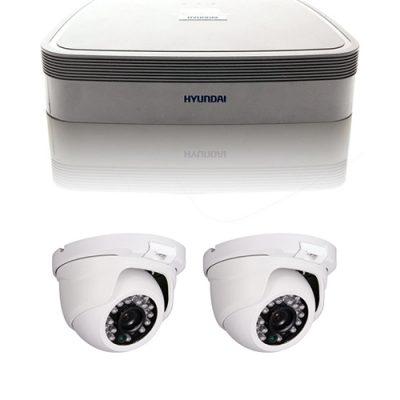 Kit CCTV con dos cámaras