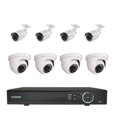 Kit CCTV de ocho cámaras